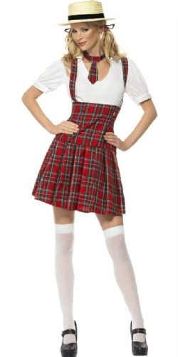 School Girl - Fancy Dress (Smiffys 31030)
